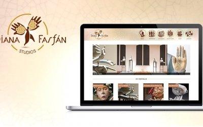 Case Study: Diana Farfán Branding + Website