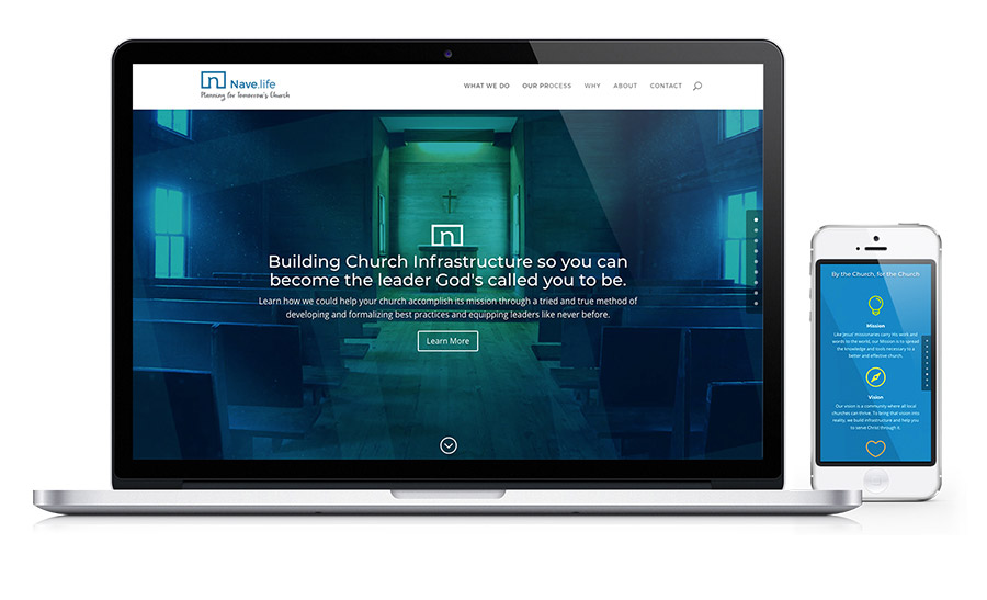 Nave.life - Church Management Website