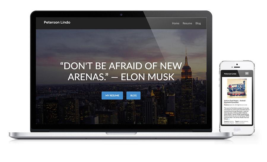 Peterson Lindo - Personal Engineer Website