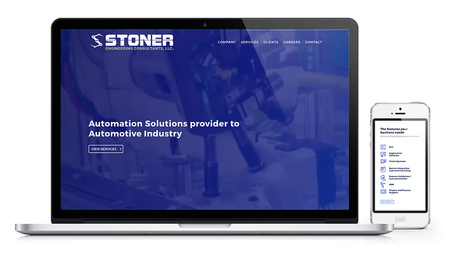 Stoner Engineering - Controls & Automation website