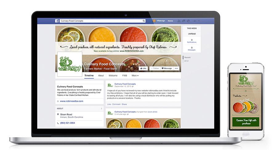 Robinos Food Sauces & Soups Social Media
