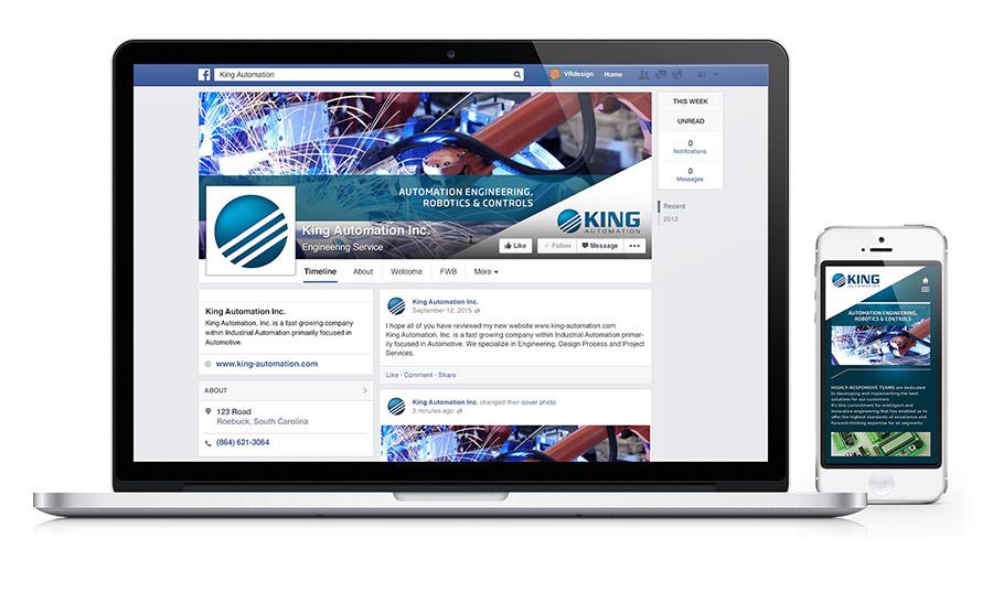 King Automation - Social Media