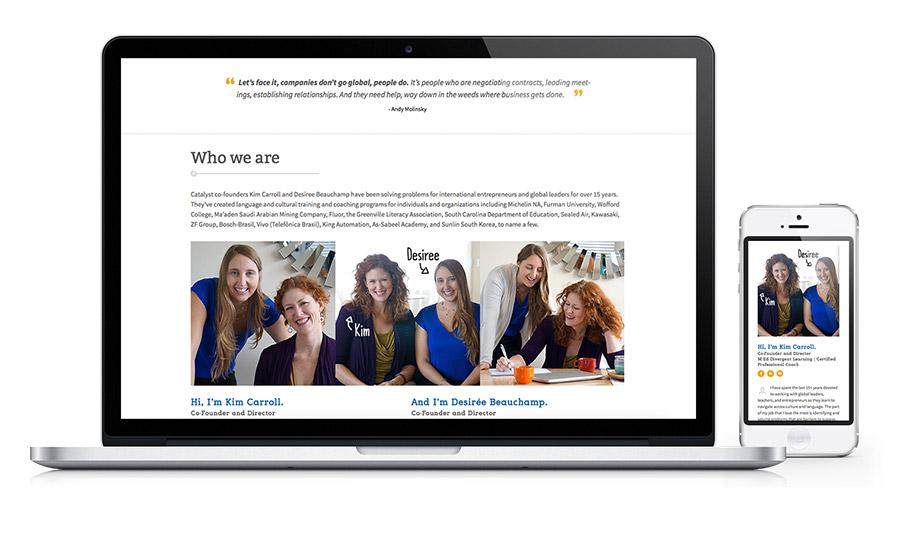 Catalyst Intercultural Website