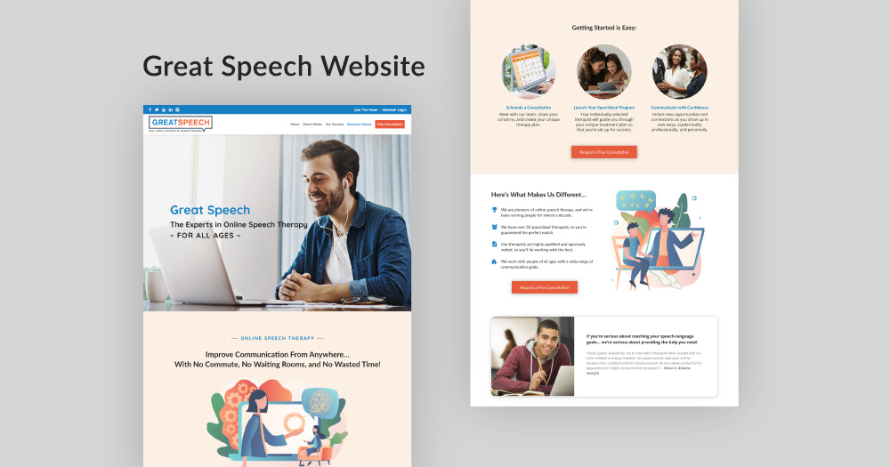 Great Speech Website