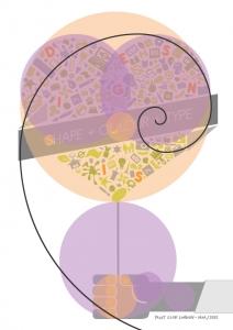 fibonacci poster printclub