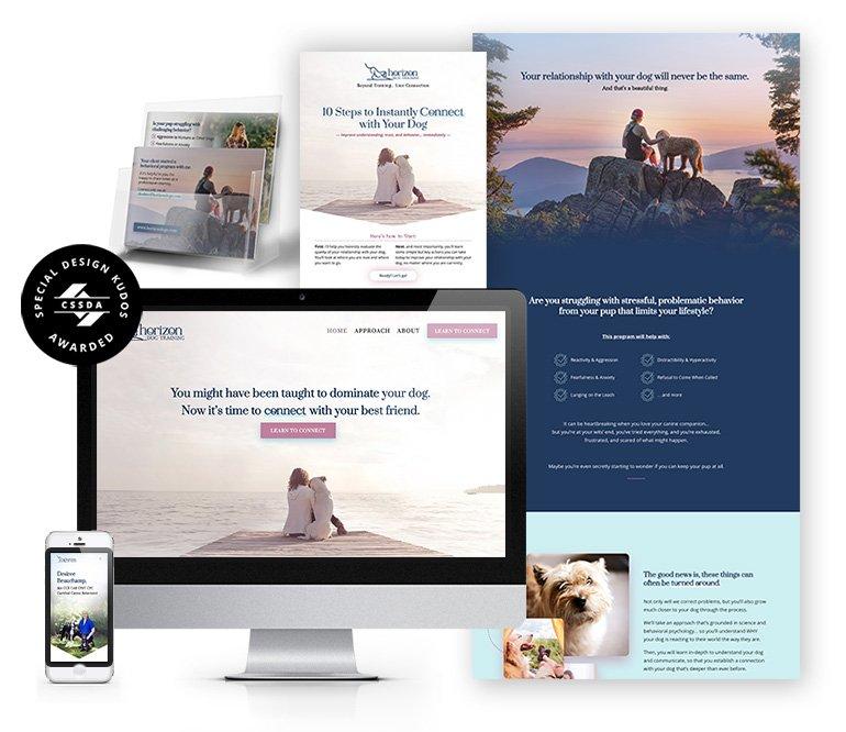 Horizon Dog Training Website
