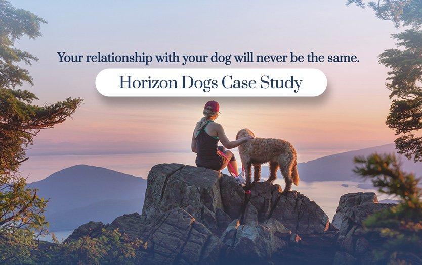 Horizon Dog Training Website Case Study