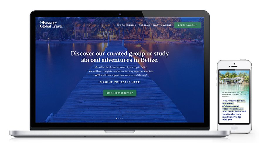 Discovery global Travel Website
