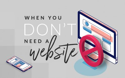 Instances When You Don't Need a Website